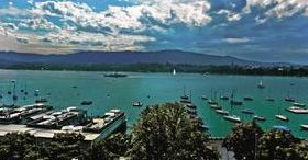 Sea side feelings in Zurich