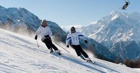 Diversión en esquís