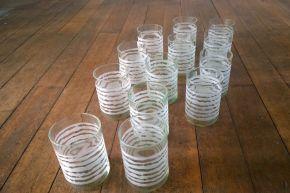Trinkgläser aus Altglas