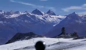 Glacier plateau, Les Diablerets, Lake Geneva Region