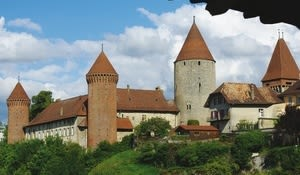 Castle of Chenaux, Estavayer-le-Lac