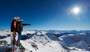 Parsenn, Davos Klosters, Graubünden