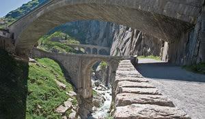 Teufelsbrücke, Schöllenen