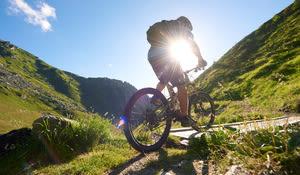 Mountainbiketour, Disentis-Sedrun
