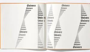 Univers Schriftmusterbuch, Frutiger