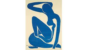 blauer Frauenakt, Matisse