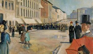 Musik auf der Strasse, Munch