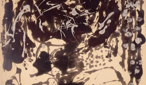 Brown and Silver, Pollock