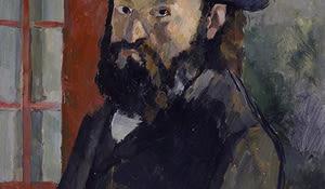 Selbstbildnis mit schwarzem Filzhut, Cezanne