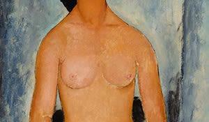 weiblicher Akti, Modigliani