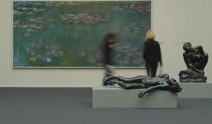KH Zurich, Rodin in der Sammlung, Monet und Rodin