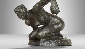 Mah femmu accroupie, Rodin