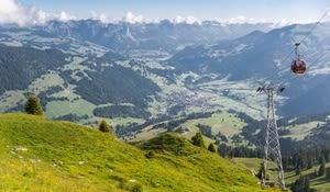 Gondelbahn Rinderberg, Zweisimmen, Gstaad Saanenland