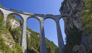 Erlebniszug Albula, Landwasserviadukt