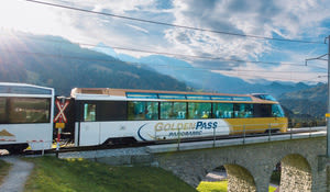 GoldenPass Panoramic, Gstaad, Bernese Oberland