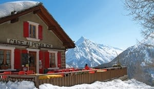 Bergrestaurant Alpenblick, Saas-Fee