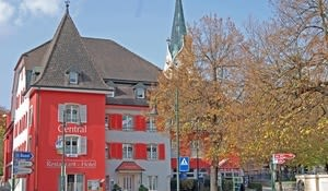 Central, Laufen