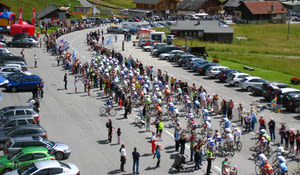 Tour de France à Leysin (2009)
