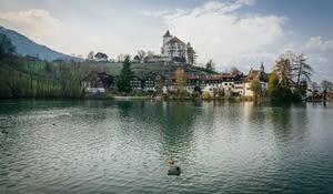 Schloss und Städtchen Werdenberg