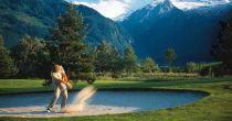 Golfing in Davos