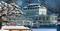 Romanza invernale sul lago e nella neve