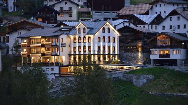 Boutique hotel laret samnaun laret svizzera turismo for Boutique hotel ischgl