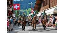 Swiss National Day in Villars