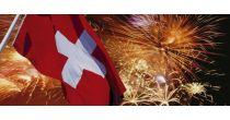 1. August Dorfmärt und Fest zum Nationalfeiertag.