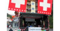 1. August Schweizer Nationalfeiertag in Samnaun