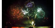 Feuerwerk in Ouchy