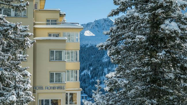 Hotel Hohenfels Arosa Switzerland Tourism
