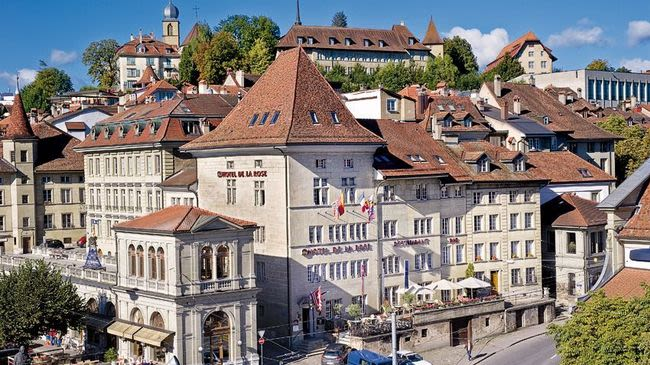 Htel de la Rose Fribourg Switzerland Tourism
