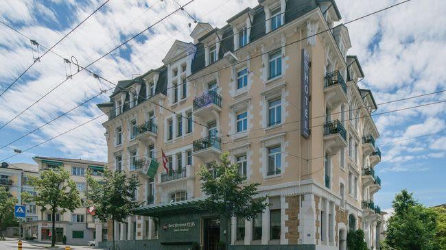 BEST WESTERN PLUS Hotel Mirabeau Lausanne Switzerland Tourism