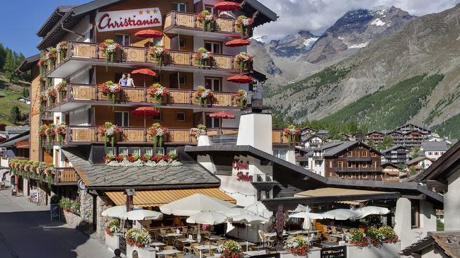 Hotel Christiania SaasFee Switzerland Tourism