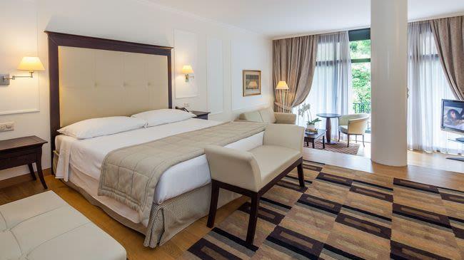 Park hotel principe lugano collina d 39 oro svizzera turismo for Tacchini mobili san salvatore